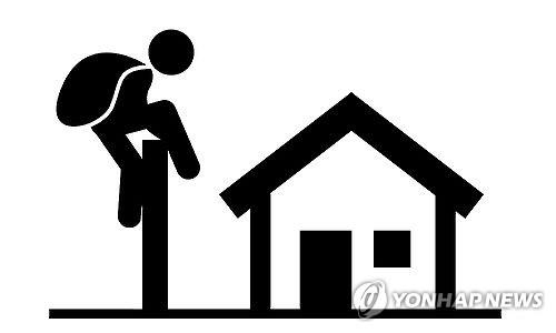 서울서 대낮 옥탑방만 골라 턴 40대 구속
