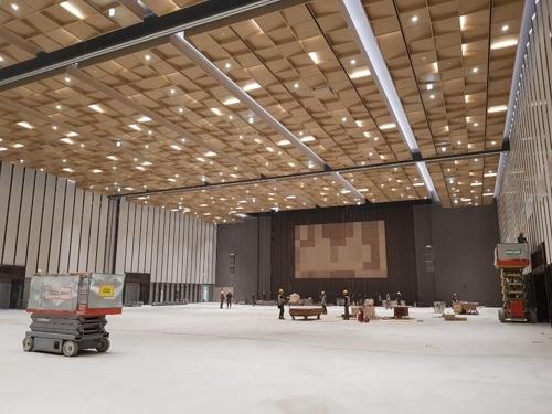 3월 준공 앞둔 수원컨벤션센터