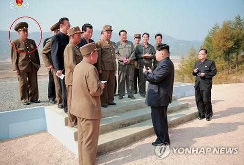 '숙청설' 마원춘 설계국장, 김정은 나선시 현지지도 수행
