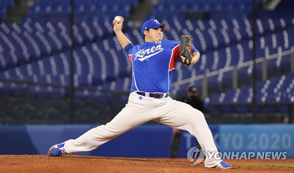 [올림픽] 역투하는 김민우