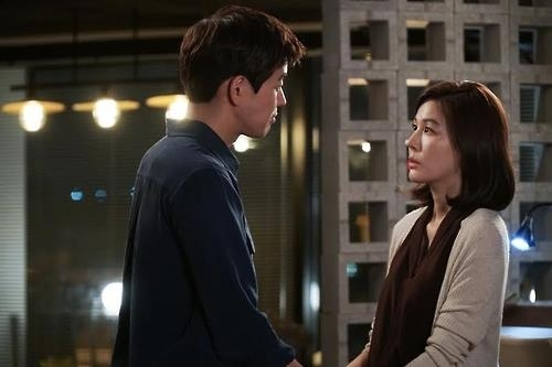 "A still from ""On the Way to the Airport."" (Yonhap)"