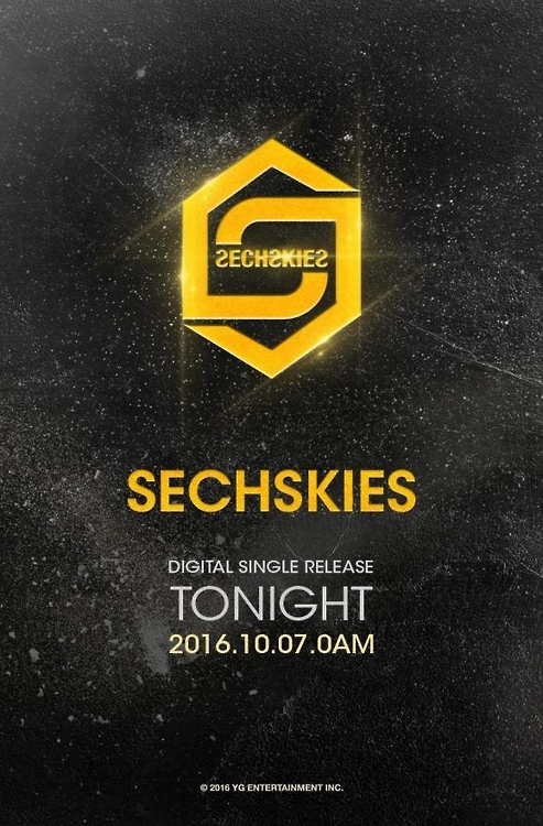 Teaser poster provided by Sechs Kies' agency, YG Entertainment. (Yonhap)
