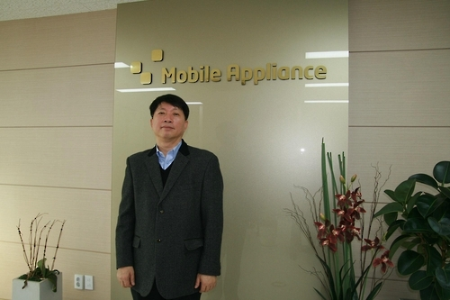 Lee Jae-shin, head of Mobile Appliance Inc., in a photo provided by the firm (Yonhap)