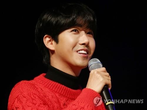This file photo shows singer Kwanghee. (Yonhap)