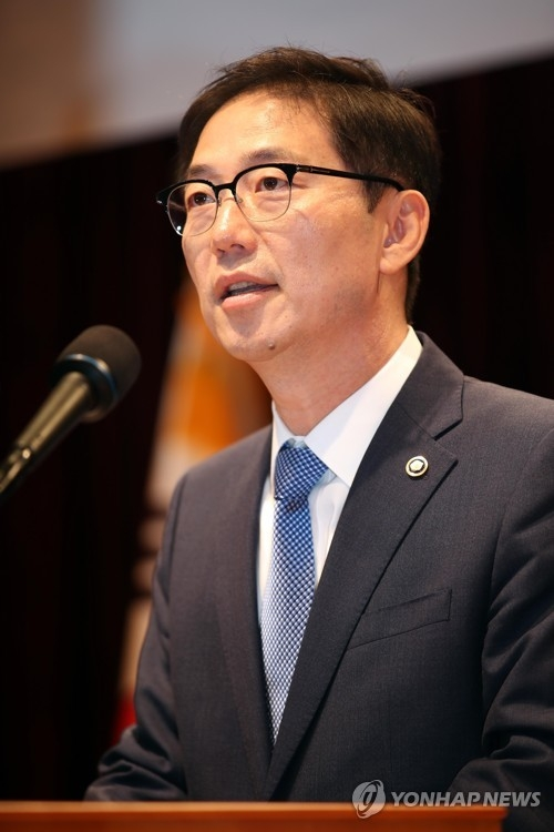 This photo taken on June 1, 2017, shows new vice unification minister Chun Hae-sung. (Yonhap)