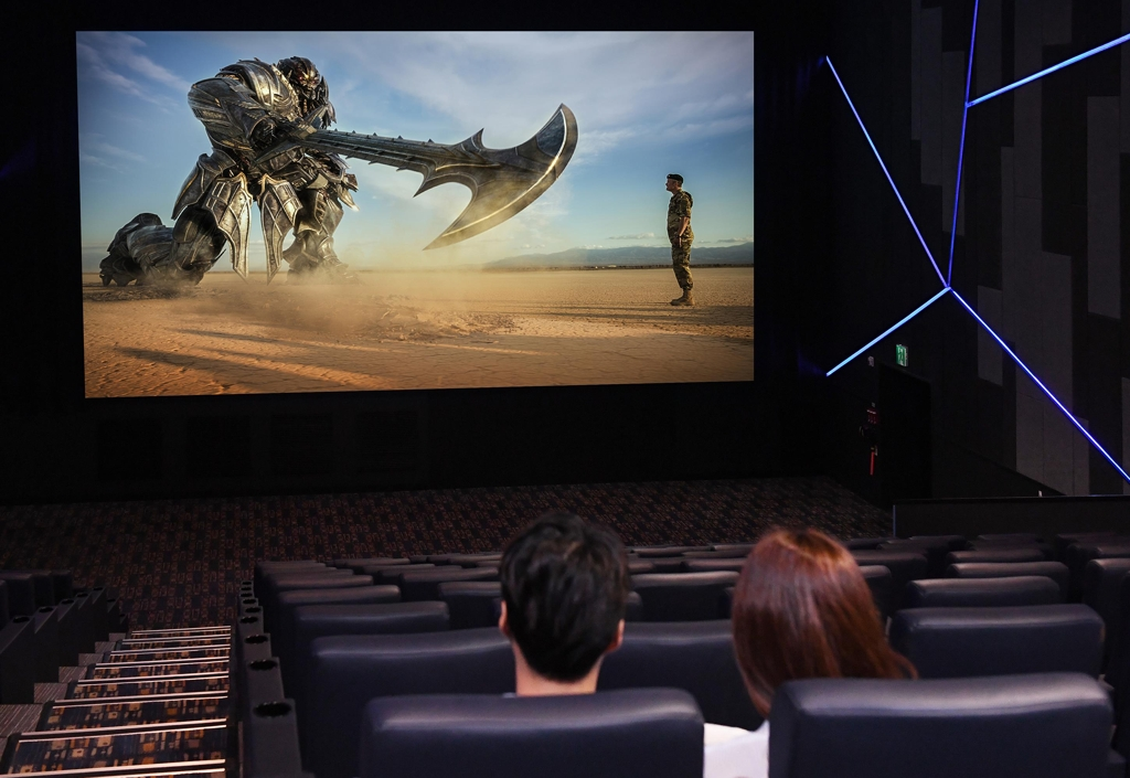 Samsung showcases world's first LED theatre - 1