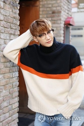 This photo, provided by JYP Entertainment, shows Jun. K of boy band 2PM. (Yonhap)