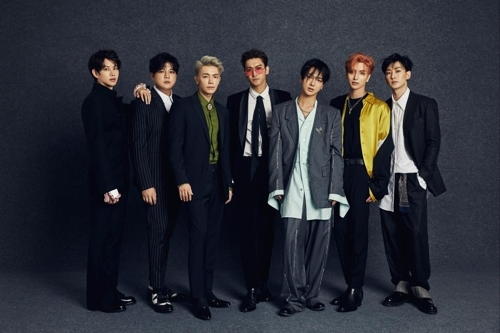 A promotional image for Super Junior, provided by Label SJ (Yonhap)