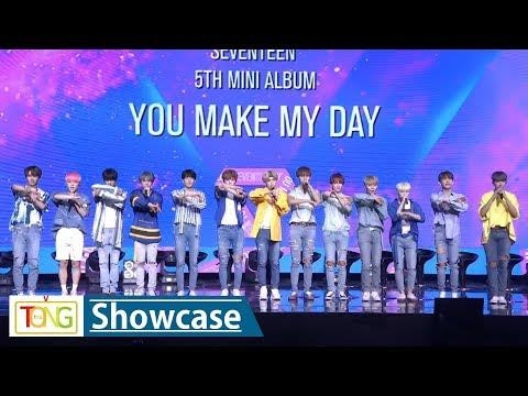 Seventeen showcases new album 'You Make My Day' - 2