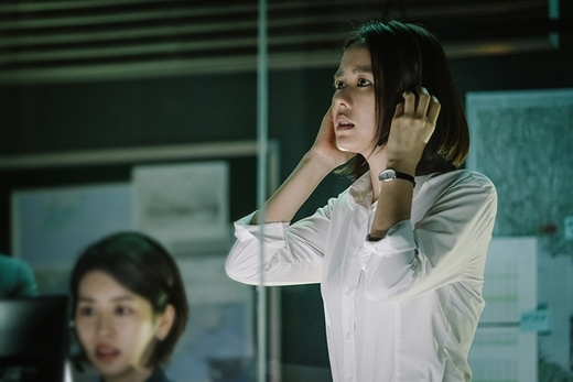 "A scene from ""The Negotiation"" (Yonhap)"