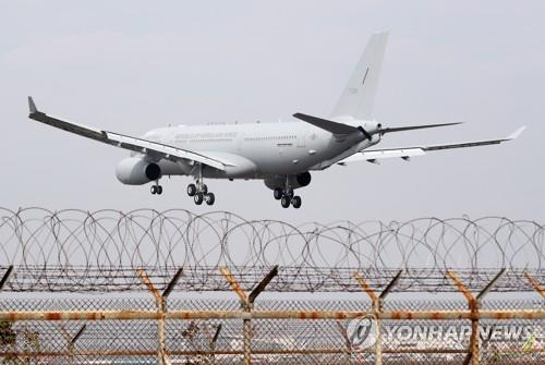 Air Force's first tanker arrives in S. Korea