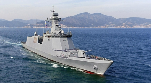 Daewoo Shipbuilding wins US$557 mln order from S. Korean Navy