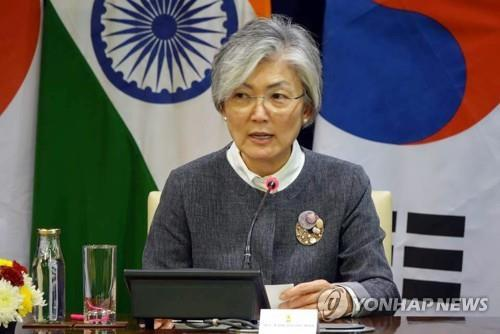 (LEAD) Korean peace process at crucial juncture in 2019: minister