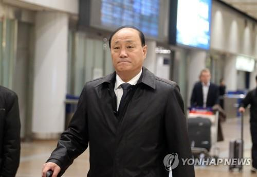 This file photo, taken on Oct. 27, 2018, shows North Korean Vice Foreign Minister Sin Hong-chol. (Yonhap)
