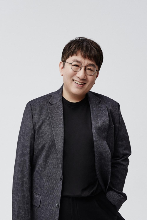 This image of Bang Si-hyuk, the creator of BTS and CEO of the band's management agency Big Hit Entertainment, was provided by his company. (Yonhap)