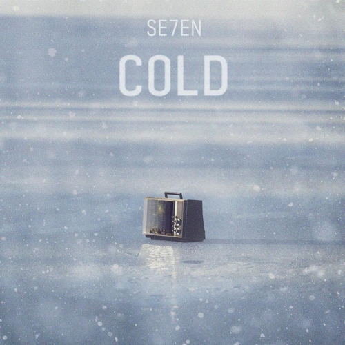 "This album jacket for Seven's new single ""COLD"" is provided by Eleven9 Entertainment. (Yonhap)"