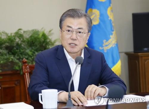 (3rd LD) President Moon says he will meet N. Korean leader anywhere