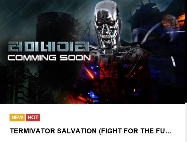 This image, captured from 3D Factory's website on April 19, 2019, shows its forthcoming Terminator VR game. (Yonhap)