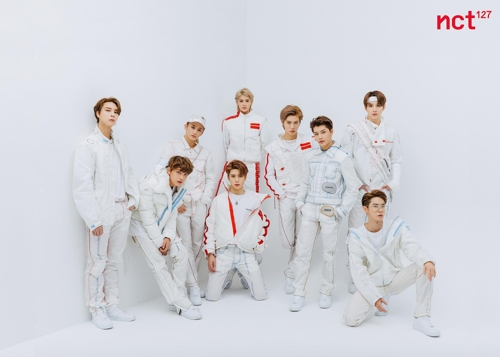 This photo of NCT 127 was provided by SM Entertainment. (PHOTO NOT FOR SALE) (Yonhap)