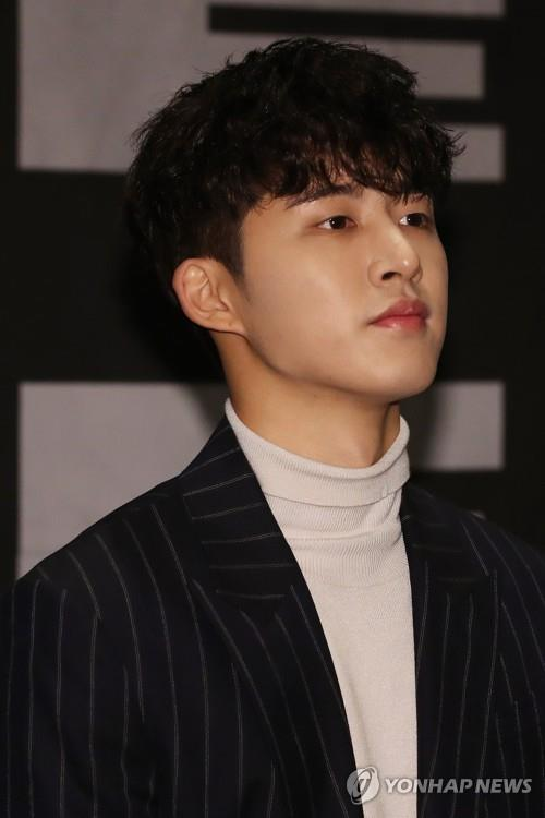 This photo shows B.I, the leader of boy band iKON, who left the band on June 12, 2019, on drug allegations. (Yonhap)