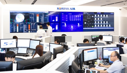 Korean Air opens center for data system management