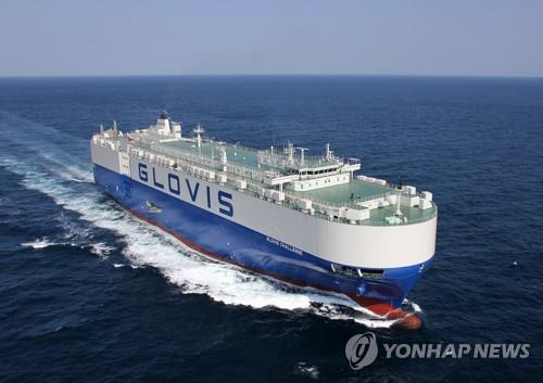 This photo provided by Hyundai Heavy Industries Co. shows a vessel equipped with its smart ship solution technology. (PHOTO NOT FOR SALE) (Yonhap)