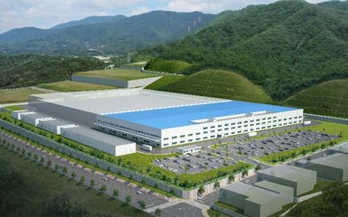 This image provided by Hyundai Mobis shows a rendering of the auto parts maker's EV parts plant to be built in Ulsan, 410 kilometers southeast of Seoul, by early 2021. (PHOTO NOT FOR SALE) (Yonhap)