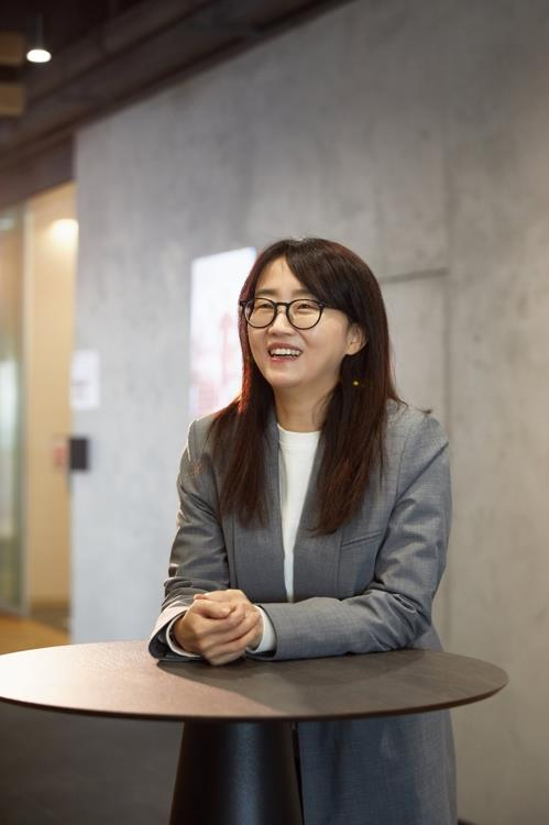 "Screenwriter Kim Eun-hee of ""Kingdom"" in an image provided by Netflix (PHOTO NOT FOR SALE) (Yonhap)"