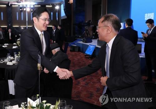 Samsung, Hyundai Motor vice chairmen meet to discuss EV biz cooperation