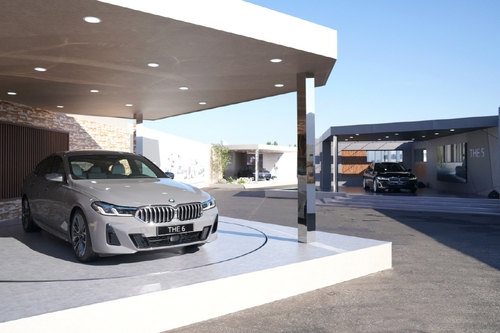 (LEAD) BMW unveils face-lifted 5, 6 Series in S. Korea