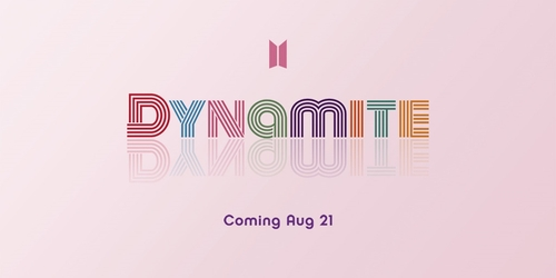 BTS announces upcoming new single album 'Dynamite'