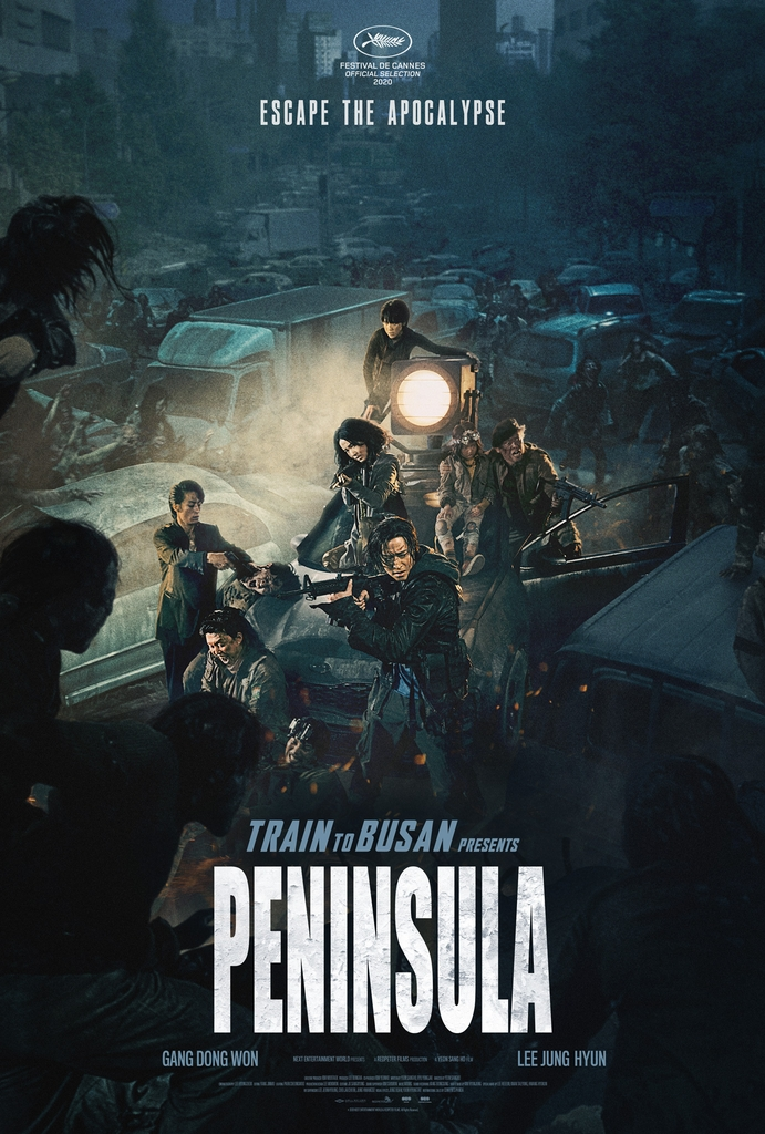 "A poster of ""Peninsula,"" released in Canada by NEW (PHOTO NOT FOR SALE) (Yonhap)"