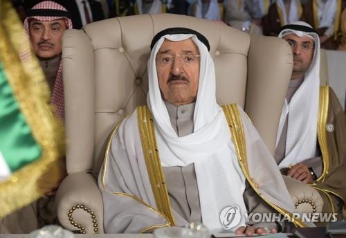 This undated photo shows late Kuwaiti leader Sheikh Sabah al-Ahmad al-Jaber al-Sabah. (Yonhap)