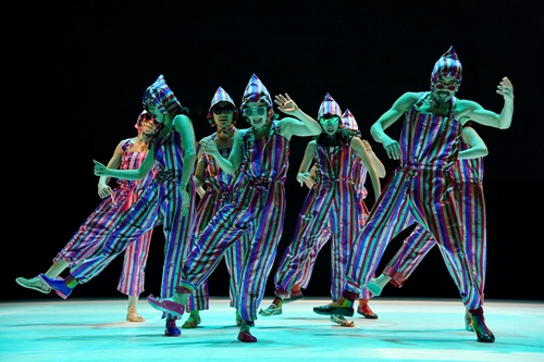 "This photo, provided by Ok Sang-hoon, shows the Ambiguous Dance Company peforming ""Fever."" (PHOTO NOT FOR SALE)"