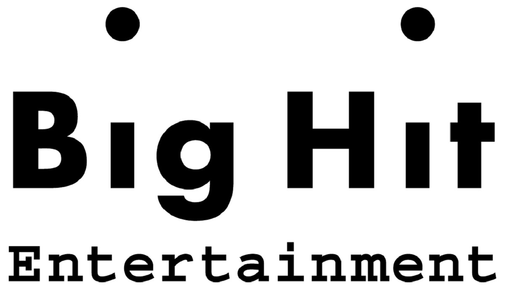 This photo, provided by Big Hit Entertainment, shows the corporate logo for the agency-label. (PHOTO NOT FOR SALE)(Yonhap)