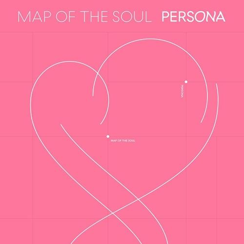 "This image, provided by Big Hit Music, shows the cover of ""Map of the Soul: Persona."" (PHOTO NOT FOR SALE) (Yonhap)"