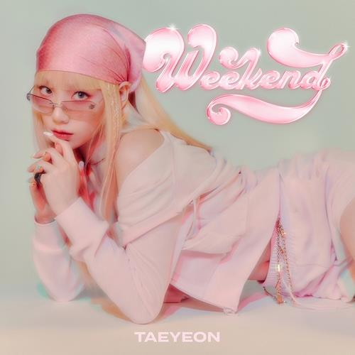 """This image, provided by SM Entertainment, is the cover photo of K-pop singer Taeyeon's new single """"Weekend,"""" which will be released on July 6, 2021. (PHOTO NOT FOR SALE) (Yonhap)"""