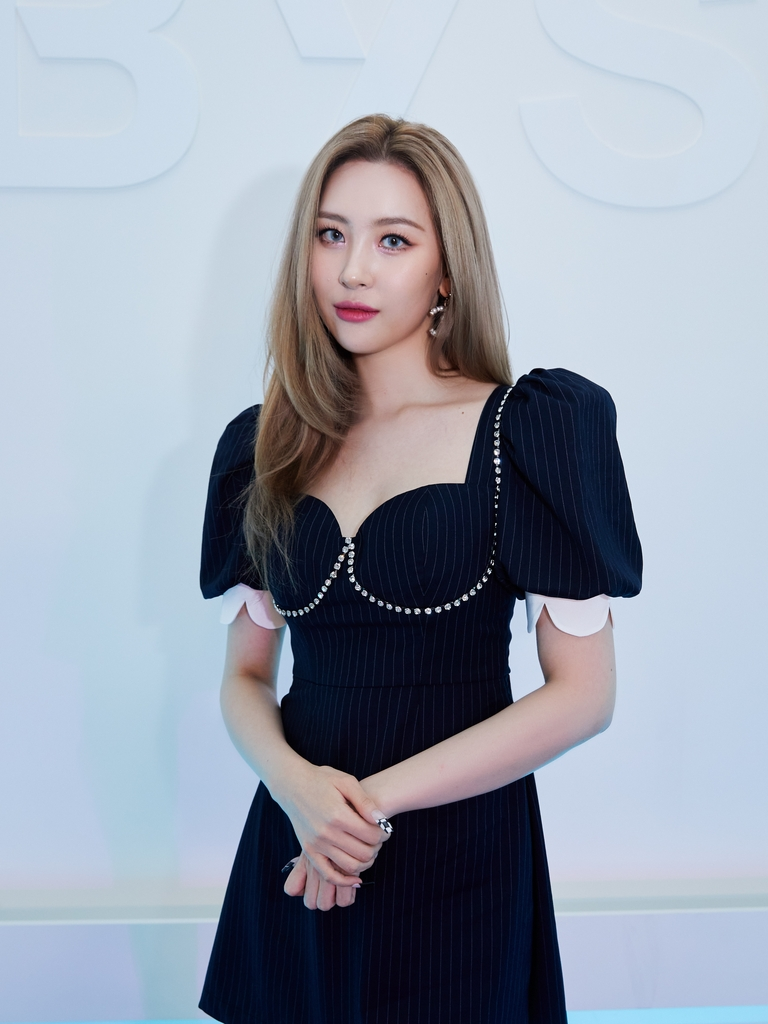 This photo, provided by Abyss Company, shows K-pop soloist Sunmi. (PHOTO NOT FOR SALE) (Yonhap)