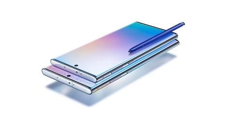 Galaxy Note 10 et Galaxy Note 10 Plus. (Photo fournie par Samsung Electronics. Revente et archivage interdits)
