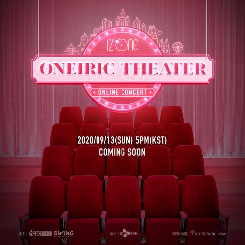 L'affiche du concert «Oneiric Theater» d'Iz One. (Photo fournie par Swing Entertainment et Off The Record Entertainment. Revente et archivage interdits)