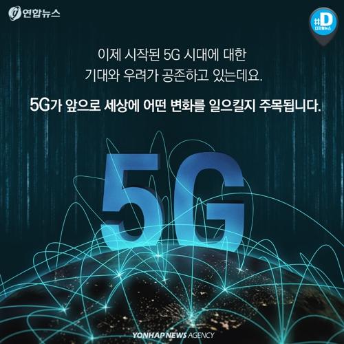 """[카드뉴스] 5G가 도대체 뭐길래…""""상상, 현실이 된다""""11"""