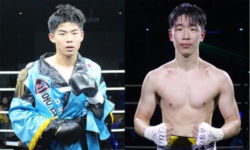 차정한(왼쪽)과 김윤성