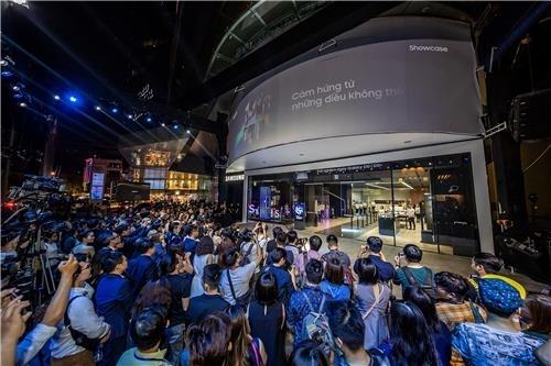 삼성전자, 베트남 호찌민에 동남아 첫 '삼성 쇼케이스' 오픈