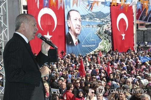 레제프 타이이프 에르도안 터키 대통령