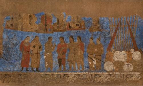 아프라시아브 궁전벽화