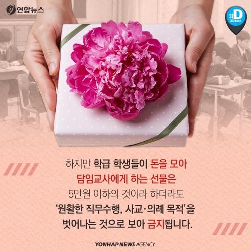 [카드뉴스] 스승의 날 선물, 어떻게 해야 하나요? - 6