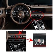 911 카레라의 센터콘솔제어장치