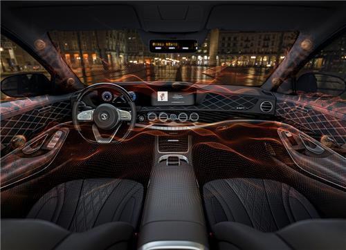 콘티넨탈, 스피커 없는 차량 오디오 시스템 공개