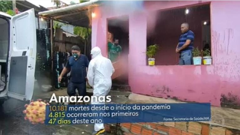 브라질 아마존 지역 코로나19 피해 급증