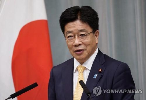 가토 가쓰노부 일본 관방장관